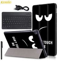 PU Leather Bluetooth Keyboard Smart Cover For Asus Zenpad 10 Case Z300 Z300c Z300CG Tablet Case