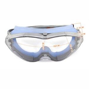 Image 4 - CK טק. בטיחות משקפי מגן שקוף נגד השפעה טקטי משקפיים רכיבה אופניים אנטי ערפל משקפיים מגן עבודה עיניים הגנה