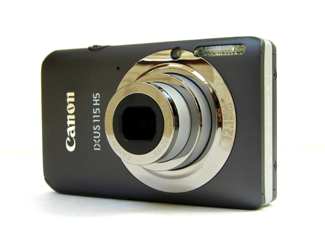 Used,Canon 115 HS Digital Camera - Various colors(12.1MP, 4x Optical Zoom) 3.0 inch LCD image