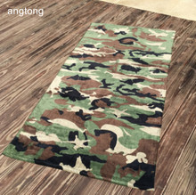 170X90cm camo beach towel reactive print soft absorbent 100% cotton oversize sand towel bath towel T257 camo print mixed