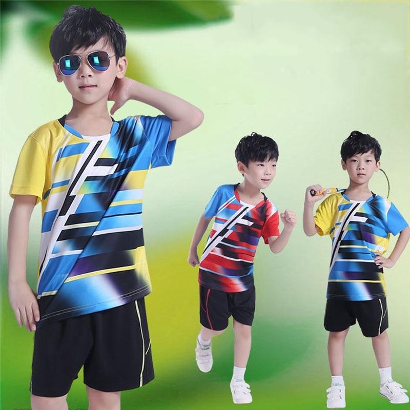 Kinder Tennishemden Sporttrikot Schnelltrocknend Atmungsaktiv - Sportbekleidung und Accessoires