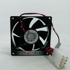 8025 8 см DF0802512SEMN 12V 0.13A 2-проводной кулер для процессора