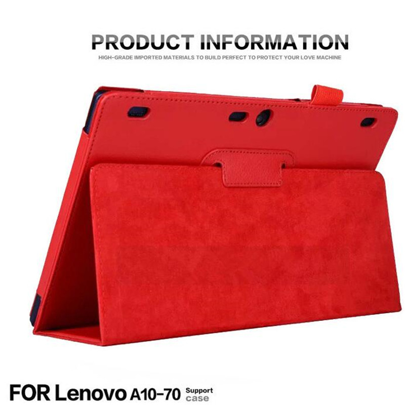 For Lenovo Tab 2 A10 70F Auto Sleep /Wake Up Flip Litchi PU Leather Case For Tab2 A10-70 70 A10-70F A10-70L A10-30 X30F cover luxury brand men wallets short dollar price money bag male clutch leather wallet carteira masculina mens purse wallet