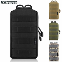 Bolsa táctica Molle EDC para chaleco, mochila, cinturón para caza al aire libre, paquete de cintura militar, accesorio para juego Airsoft