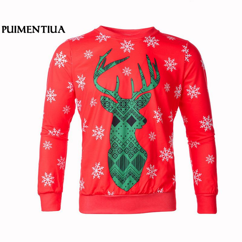 Men's Christmas 3D Casual O-Neck Printed Cardigan Tie Style Funny Christmas Party Unisex Long Sleeve Slim Fit Puimentiua TS