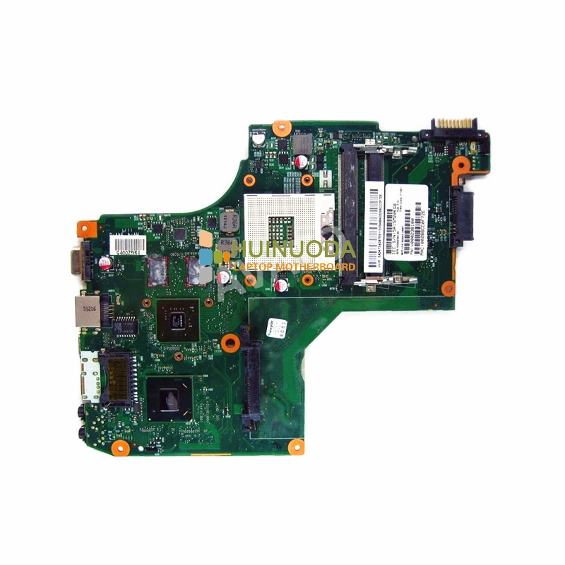 все цены на  laptop motherboard for toshiba satellite C600 V000238100 6050A2448001-MB-A01 HM65 NVIDIA GT315M DDR3 mother board  онлайн