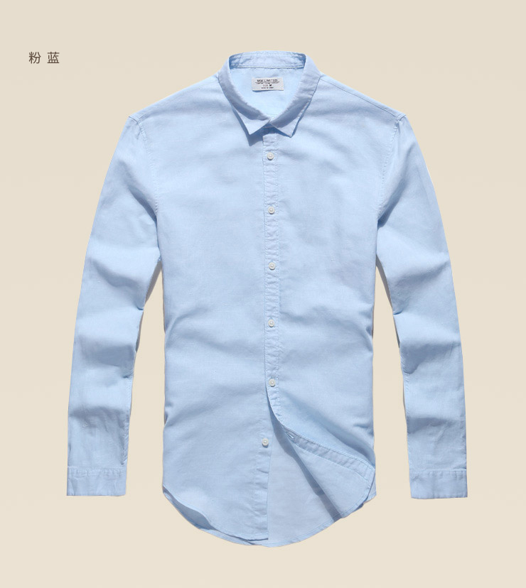 Image 5 - Casual Hawaiian Shirts Men Cotton Linen Designer Brand Slim Fit 
