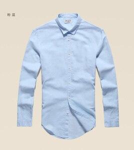 Image 5 - Casual Hawaiian Shirts Men Cotton Linen Designer Brand Slim Fit Man Shirts Long Sleeve White Shirts For Men Clothes Spring S1098