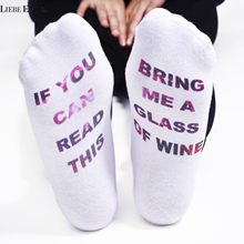 IF YOU CAN READ THIS font b Socks b font font b Women b font Funny