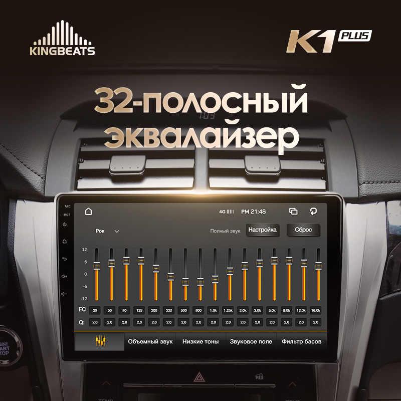 KingBeats Android 8.1 octa-core jednostka główna 4G w desce rozdzielczej Radio samochodowe multimedialny odtwarzacz wideo nawigacja gps dla Toyota Camry 50 55