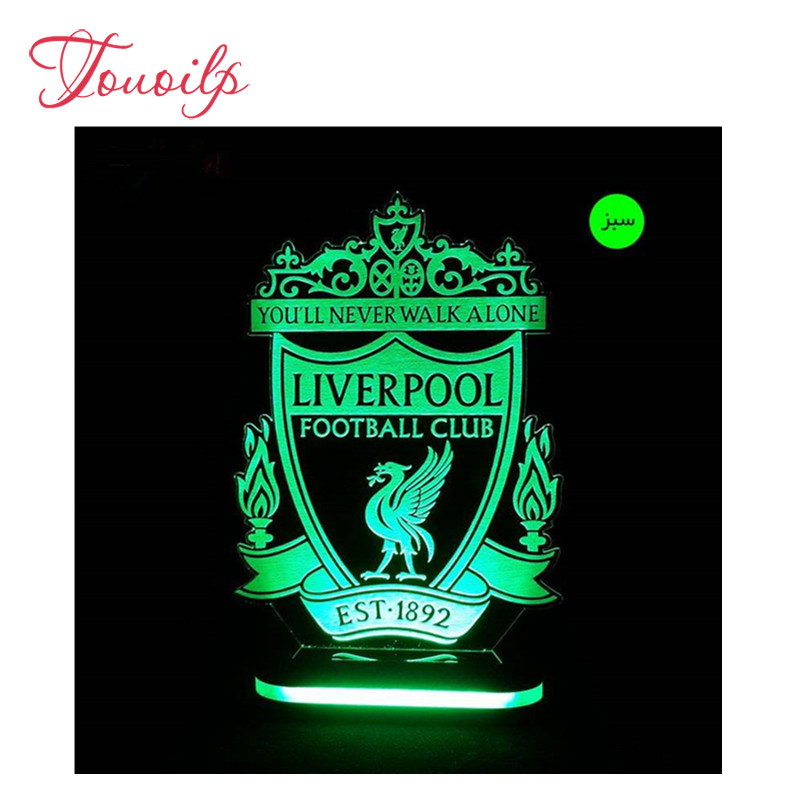 5D Diamond Painting Liverpool Team Badge Football Pattern Cross Stitch Kits Full Diamond Embroidery 5D Diamond Mosaic Needlework