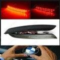 2x Black Smoked Bumper Reflector LED Tail Brake Light  F30 F31 F34 GT F32 F33(CA181)
