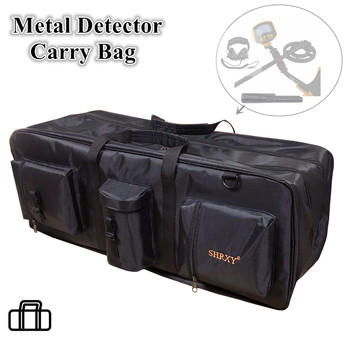 Outdoor Advanture Big Capacity Metal Detectors Bag for Carrying Shovels Headphones Underground Metal Dtector