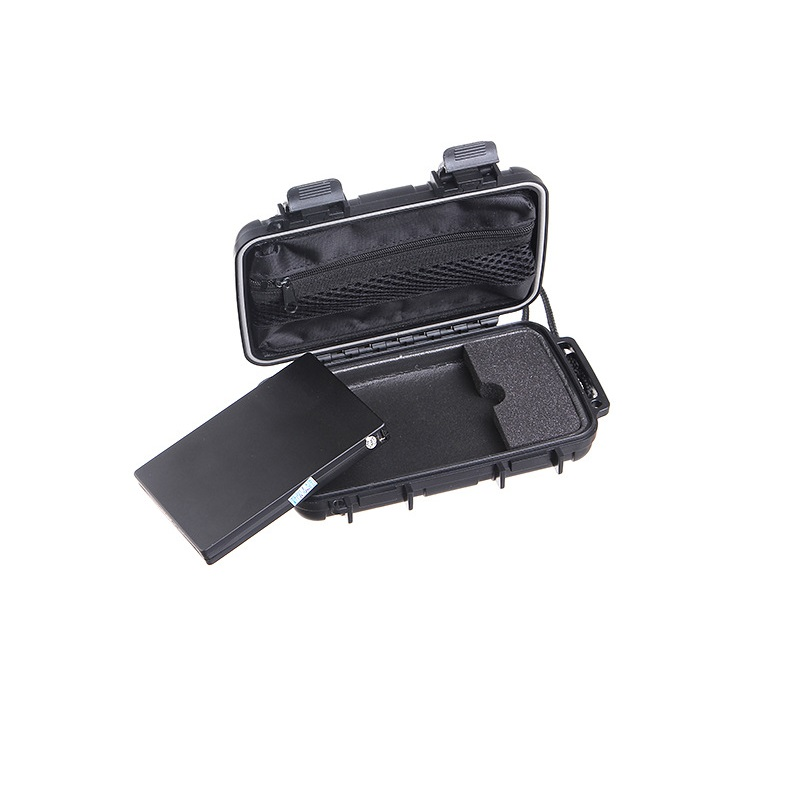 Military 3 Anti Waterproof dustproof anti pressure Carrying case For 2 5 Hard Drive Disk HDD