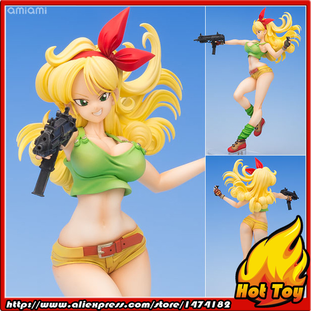 100% Original MegaHouse Dragon Ball Gals Complete Figure - Lunch Blonde Ver. from Dragon Ball electric lunch box double layer stainless steel liner cooking lunch boxes multifunction plug in lunch box steamed rice steamer