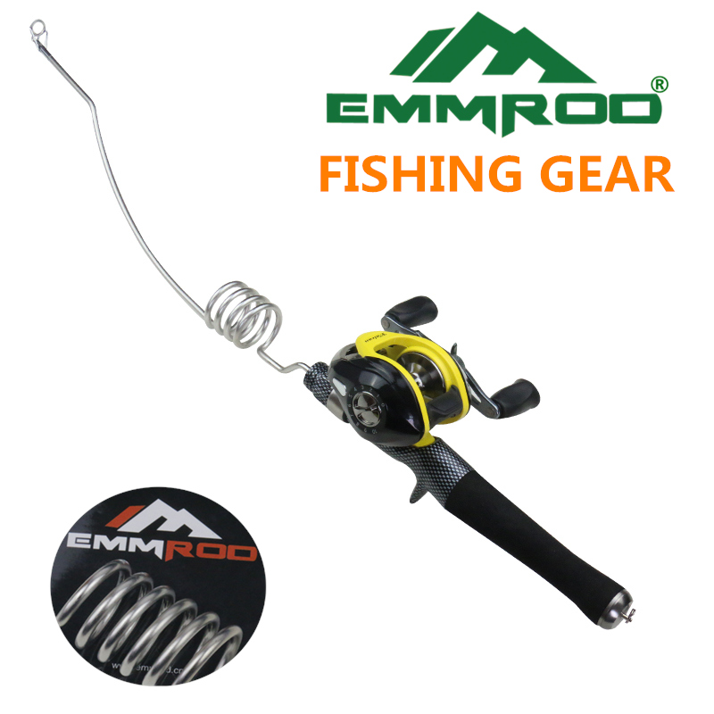 2016 New Emmrod Stainless Packer Baitcasting Fishing Rod Combo Casting Pole Ocean Boat Fishing Rod Ocean Fishing by Emmrod