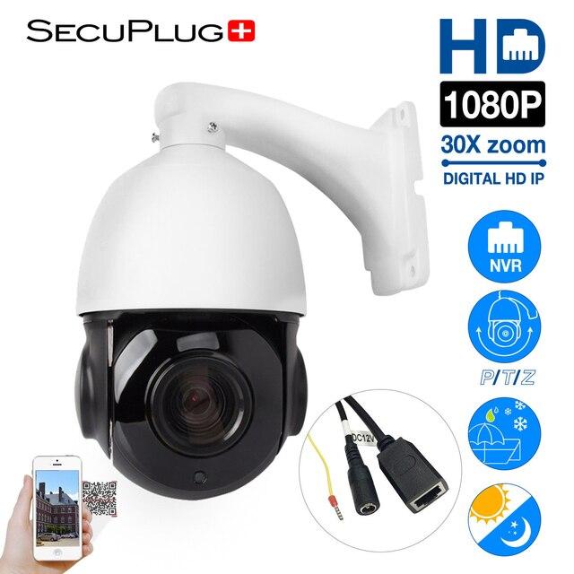 7b01b5f45b3 Waterproof Sony 4.5   30X Zoom 1080P 2.0MP Outdoor HD PTZ IP Speed Dome  Camera