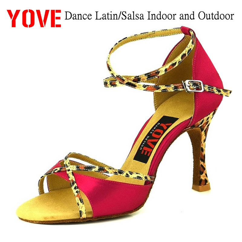 """""""YOVE Style LD-1001"""" šokių bateliai """"Bachata"""" / """"Salsa"""" - Sportbačiai - Nuotrauka 1"""