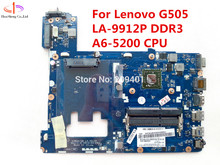 For Lenovo G505 Laptop Motherboard LA-9912P DDR3 Mainboard 100% work test fully