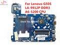 Para lenovo g505 la-9912p placa madre del ordenador portátil mainboard ddr3 prueba de trabajo 100% totalmente