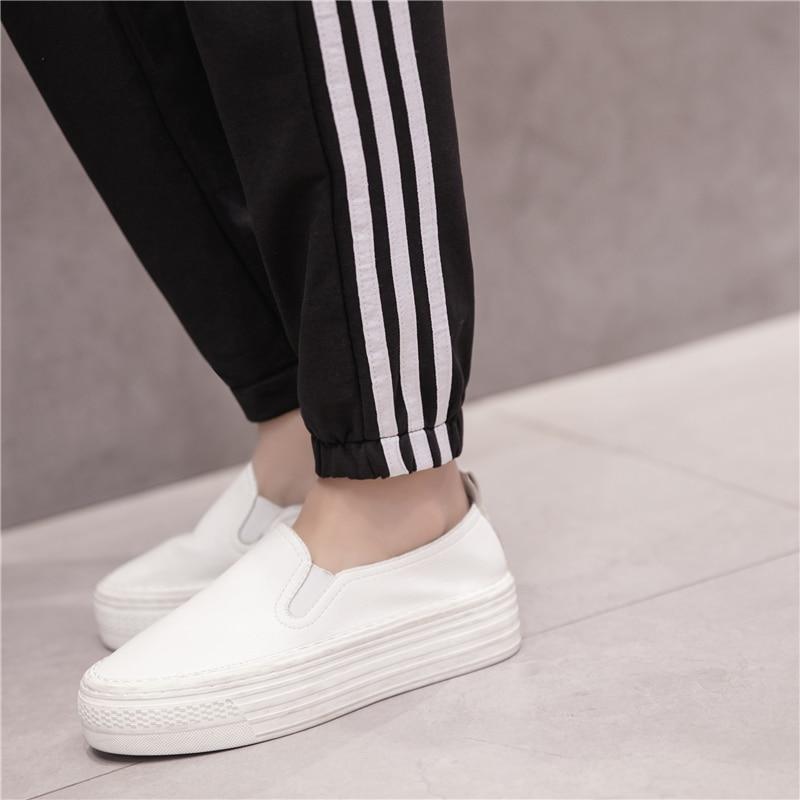 LOIEJOHHI summer Women's pants 2018 New Simple Fashion Sweatpants Female Loose Casual Wide leg pants female S-XXL KMK06 7