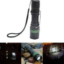 Tactical Flashlight Torch Strong Lumen Pen Pocket Light Zoom Adjustable Focus Led Lantern Hunting Hiking Police Lamp