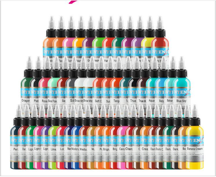 54colors Natural Plant Tattoo Pigment Permanent Makeup Bottle 30ml attoos Ink Pigment For Body Professional Beauty Art Supplies54colors Natural Plant Tattoo Pigment Permanent Makeup Bottle 30ml attoos Ink Pigment For Body Professional Beauty Art Supplies