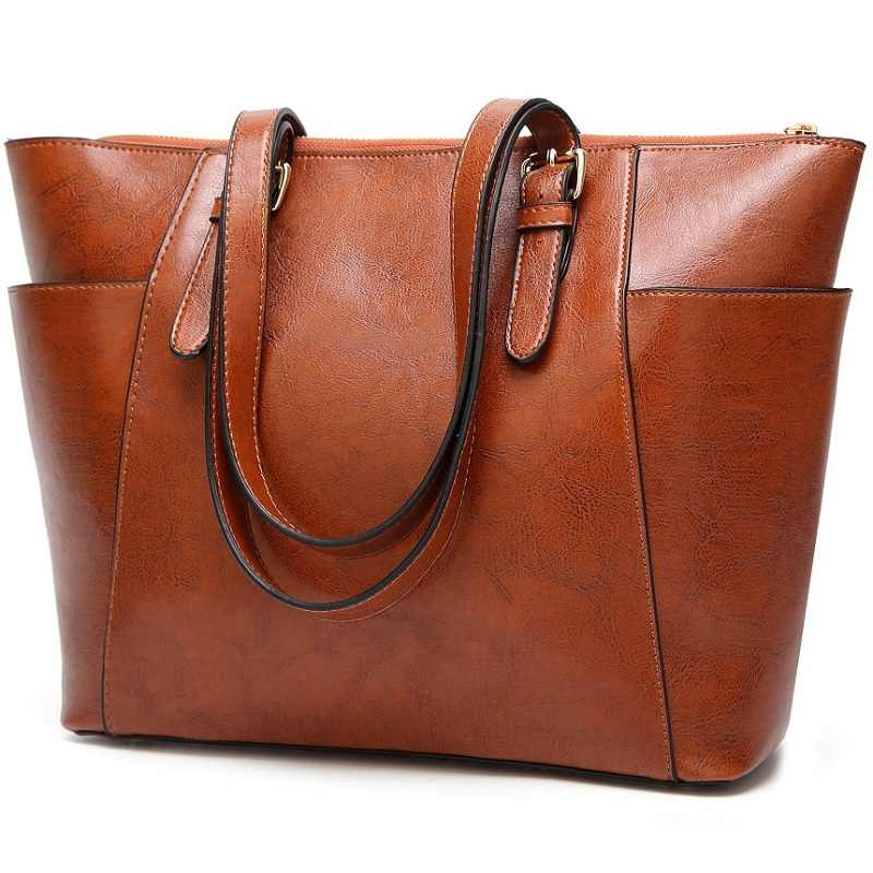 Designer Handbags High Quality Genuine Leather Bags For Women 2020 Female Messenger Bag Vintage Ladies Shoulder satchel Bag N412