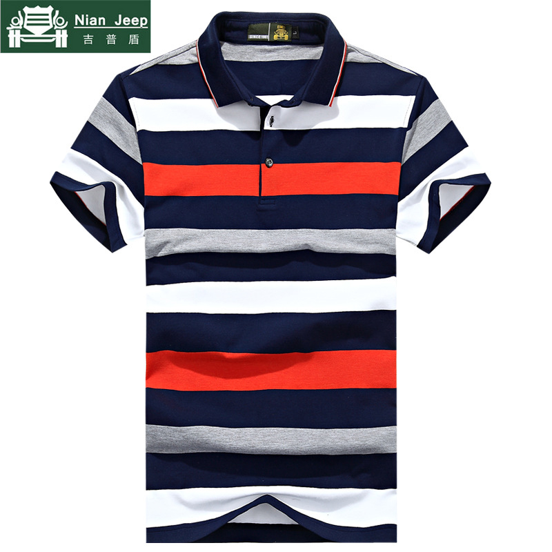 Brand 2018 Striped   Polo   Shirt Men High Quality Top&Tees Men's   Polo   shirts Business men Clothing Plus Size M-3XL   Polo   homme