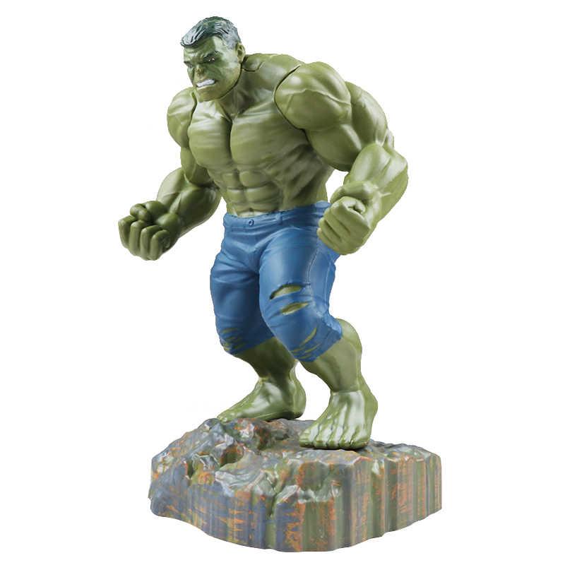 Новый Marvel Мстители супер герой Халк Бастер фигурку Коллекция Модель Куклы Новый год рождественский подарок игрушечные лошадки для детей
