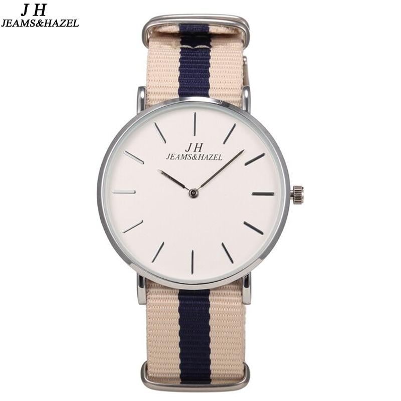 Top Brand Casual Fabric Strap Men Watch Resistant Quartz Wrist Watch Simple Fashion Gentleman Analog Clock as Gift ...