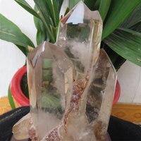 Новый 1413 г большой длинный AAA + + прозрачный кварцевый кристалл мульти точки палочка Природный камень образец целебная, рейки, фэншуй подарок
