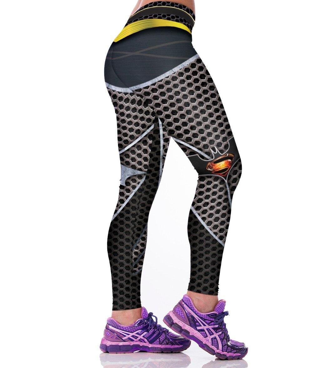 676778c10d 3D Honeycomb SuperMan Printed Leggings Sport Women Gym Clothes Punk Rock  Fitness Clothing Spandex Jogging Work out Legins