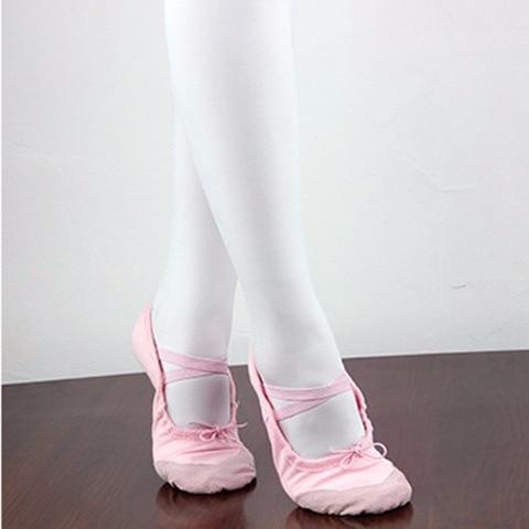 Puseky Dancing Shoes Children Shoes Baby Kids Professional Flat Shoes Soft Dance Ballets Flats Cute Kids Ballet Flats Shoes Pakistan