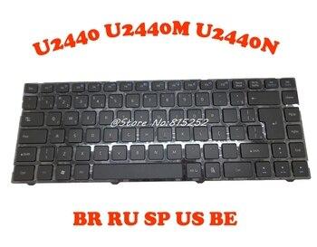 JP Keyboard For Gigabyte U2440 U2440M U2440N Brazil BR Russia RU Spain SP United States US Belgium BE