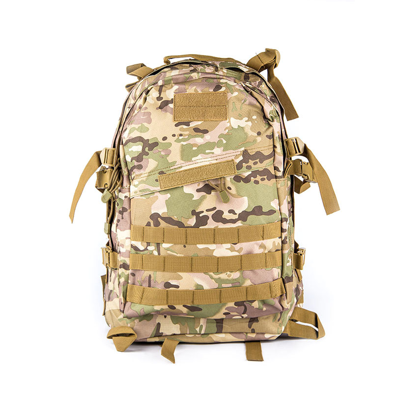 Military Camouflage Tactical Assault Molle 3 Day Backpack <font><b>Hydration</b></font> Pack Outdoor Sports Camping Hiking Survival Travel Bag 35L