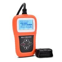 Hot bán Mini VAG505 Siêu vag scanner mini vag 505 auto car code reader scanner cho VW/AD Scanner công cụ xe chẩn đoán-công c
