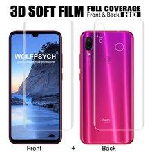 hot deal buy tpu soft silicone full cover film screen protector film for xiaomi mi 8 se lite pro mix 2 2s redmi note 7 pro hydrogel sticker