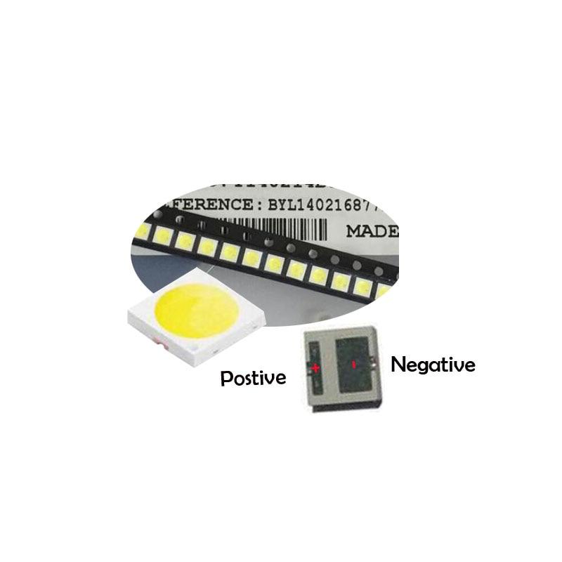Diodes Active Components Hearty 500pcs For Lg Smd 8520 Led Innotek Led Led Backlight 0.5w 8520 3v Cool White 50-55lm Tv Application
