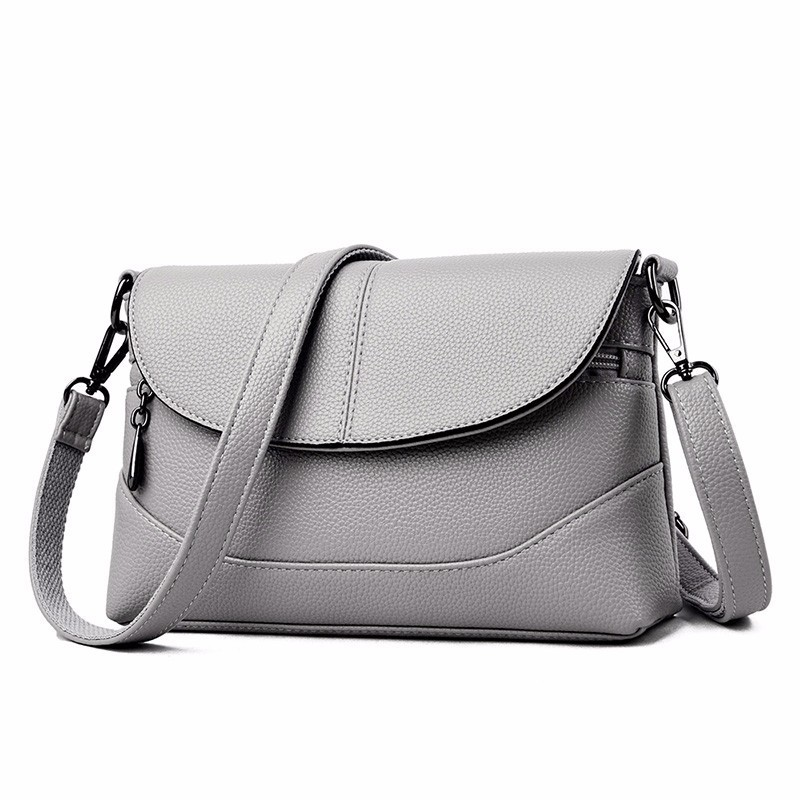 2019 Women Messenger Bags Small Crossbody Leather Shoulder Bags Female Ladies Clutch Luxury Sac A Main Vintage Handbags Bolsos