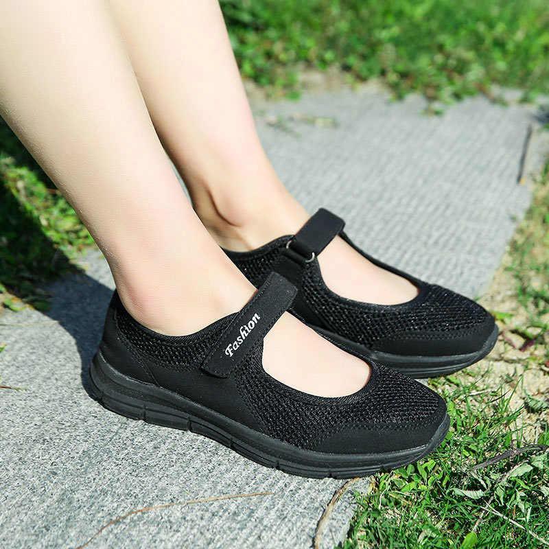 Delle Donne di modo Sneakers Casual Scarpe Femminili Pattini di Estate in Mesh Traspirante scarpe Da Ginnastica Signore Cestino Femme Tenis Feminino
