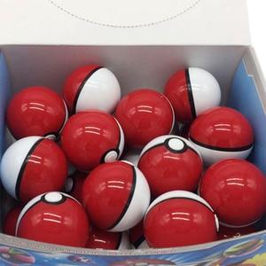 Image 3 - Pikachu 20 adet Pokeball + 20 adet rastgele figürü aksiyon figürleri Cosplay sahne film çevre sevimli hediye