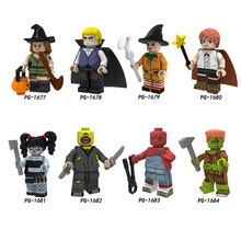 Single Sale PG8181 Halloween Witch Fun Size Aaron Riley Alice Pearce Little witch Ada One eyed Eide Claire Alec Doll Toy(China)