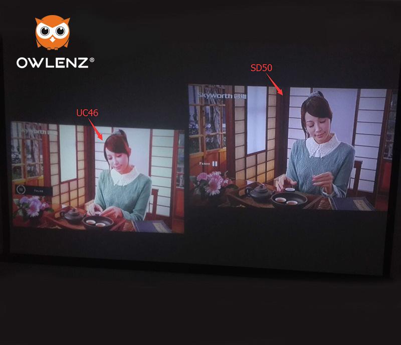 Prix pour Chaude 1500 Lumens SD50 Plus LCD Mini Projecteur Home Cinéma film Multimédia Vidéo LED Proyector HD Projecteurs Beamer HDMI USB AV