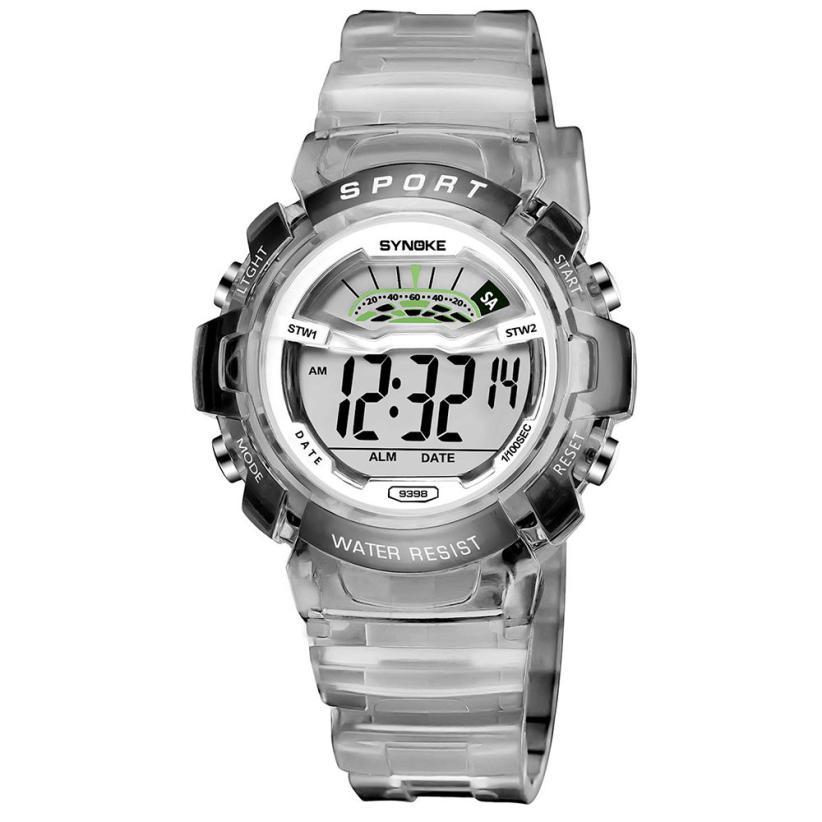 SYNOKE Children Boy Child Student Wodoodporny zegarek sportowy Data - Męskie zegarki - Zdjęcie 2