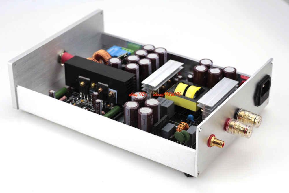 Закончил 1000 Вт моно Hi-Fi класса D аудио Мощность усилитель IRS2092 + IRFB4227 Amp
