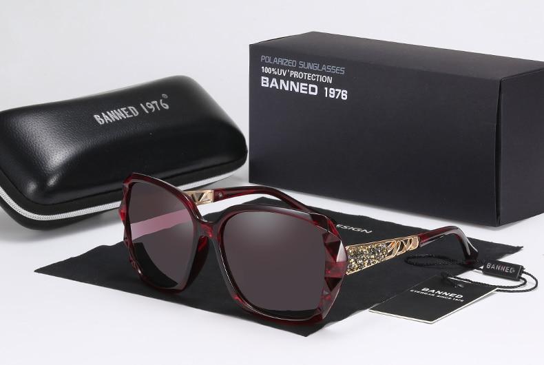 3529a0480e0 2018 Luxury Brand Design Rhinestone Polarized Sunglasses Women Lady ...