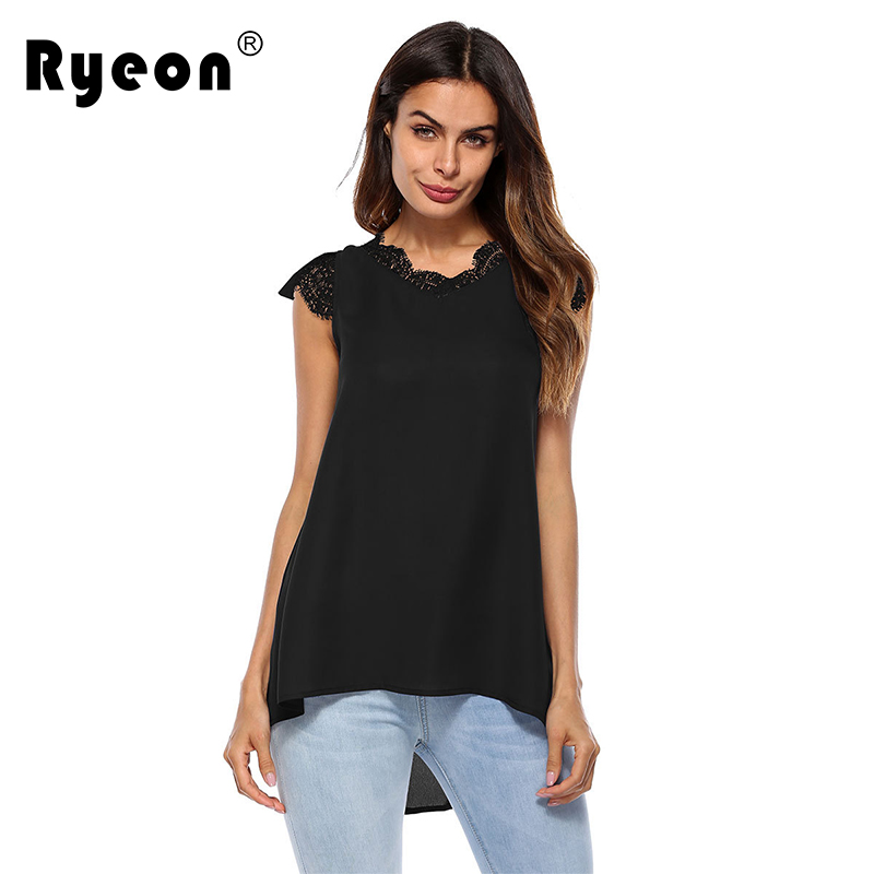 Blouses & Shirts Fashion Style Newbestyle Women Summer Tops Elegant Work Women Blouses Cap Sleeve Black And White Tie Neck Short Sleeve Workwear Striped Blouse