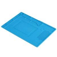 Heat Resistant Heat Gun BGA Insulation Mat Desk Pad Repair Tools Kit For IPhone BGA Soldering