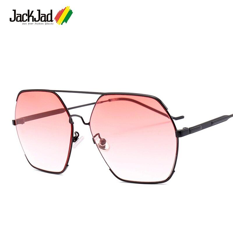 34cf92896cc Detail Feedback Questions about JackJad Fashion Hexagon Metal Aviation Style  Gradient Sunglasses Men Women Vintage Brand Design Sun Glasses Oculos De  Sol ...